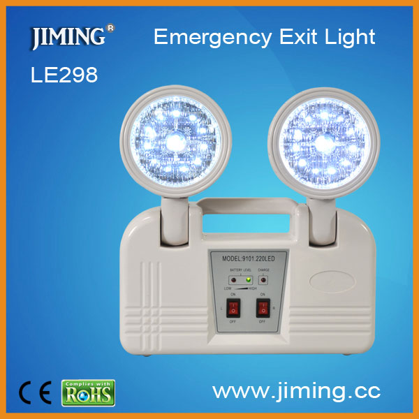 Le298l Led Rechargeable Emergency Twin Spotlight China